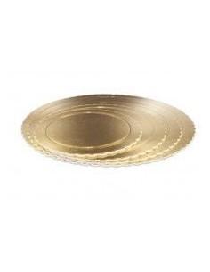 Base Tarta fina oro 20 cm