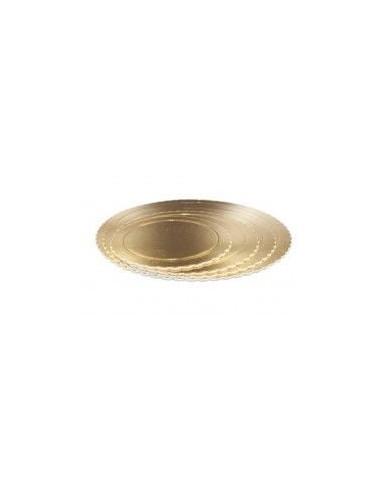 Base Tarta fina oro 30 cm