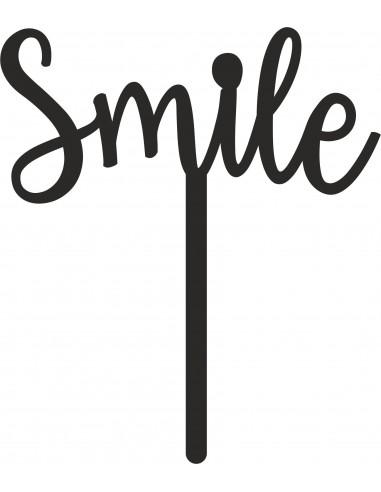 Topper tarta Smile