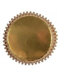 Mini cápsulas oro metalizadas