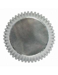 Mini cápsulas plata metalizadas