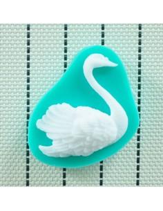 Molde de silicona cisne