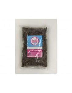 Cobertura de chocolate negro con leche
