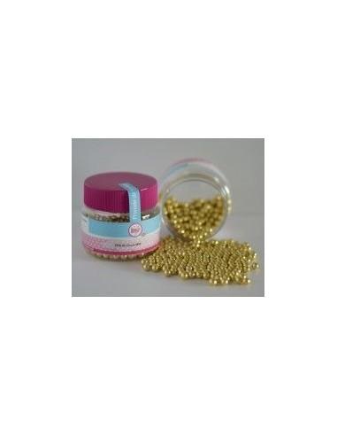 Perlas comestibles oro