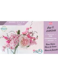Master class bouquet flores azucar