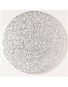 Base Tarta Redonda Plata 30cm x 1cm