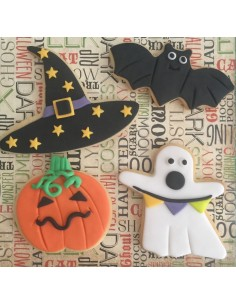 Taller decoración de galletas Halloween para niños