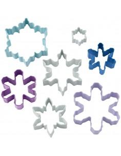 Set cortadores copos de nieve