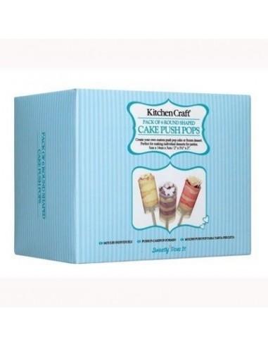 Push up cake pops Redondo 6 unidades Sweet Does It
