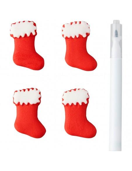 calcetines de azucar con rotulador