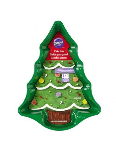 Molde arbol Navidad Wilton