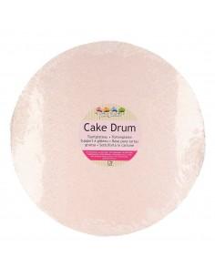 base rosa oro 30 cm tartas