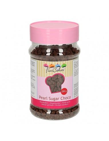 Azúcar perlado chocolate