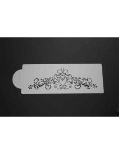 Stencil cenefa diseño elegante