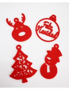 Figuras navideñas para el arbol