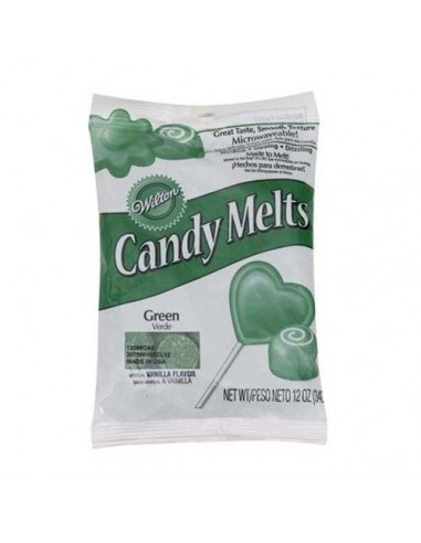 Candy Melts verde oscuro