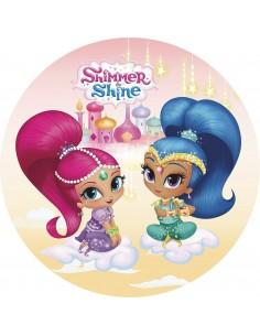 Papel de azúcar Shimmer and Shine