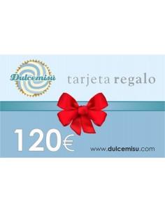 Tarjeta regalo 120€
