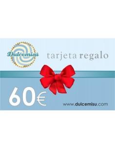 Tarjeta regalo 60€