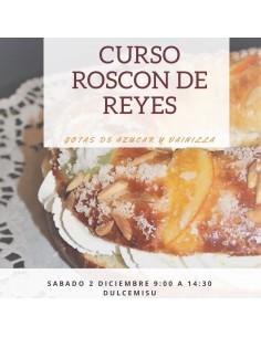 Curso Elaboración de roscón de Reyes