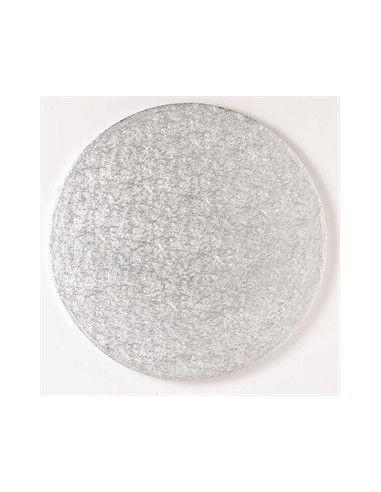 Base Tarta Redonda Plata 25cm x 1cm