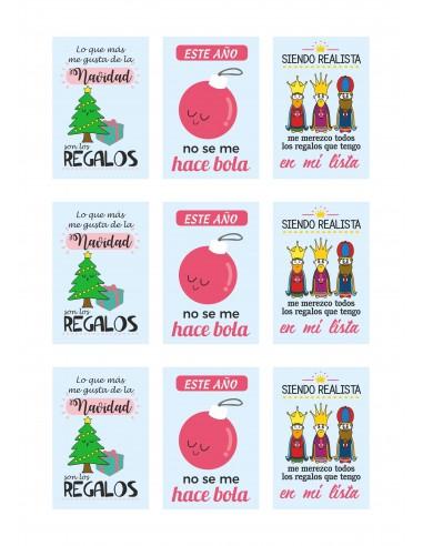 Papel azúcar navidad para galletas