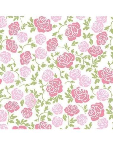 Transfers de rosas for Imagenes de papel decorado