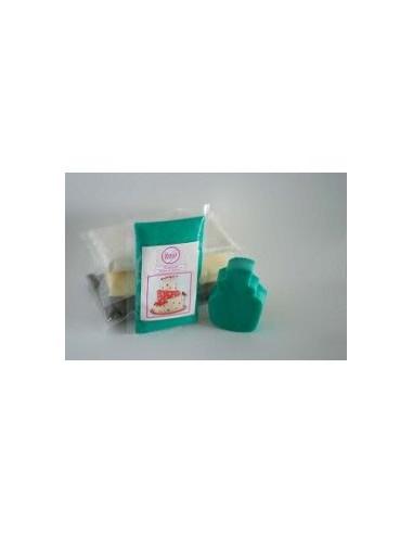 Fondant turquesa sweet kolor 500 gr