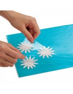 Carpeta para petalos de flores de azucar