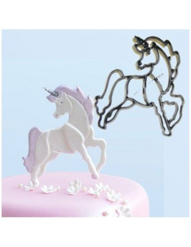 Cortador unicornio patchwork