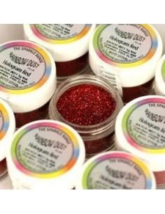 Purpurina decorativa hologran roja