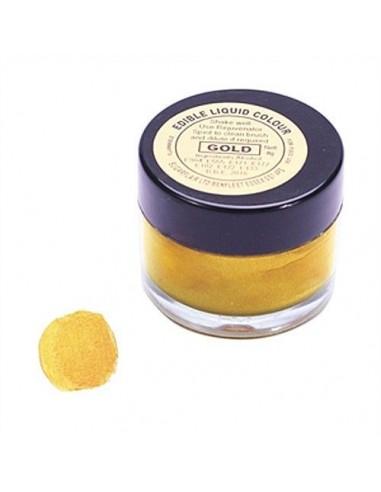 Colorante liquido oro Sugarflair