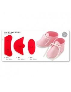 Molde zapato bebé