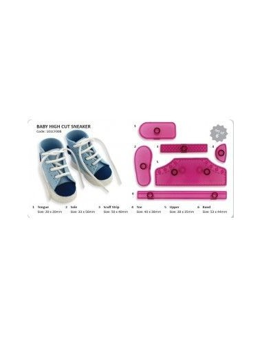 Molde zapato niño