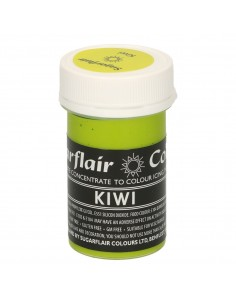 Colorante en Pasta kiwi Sugarflair