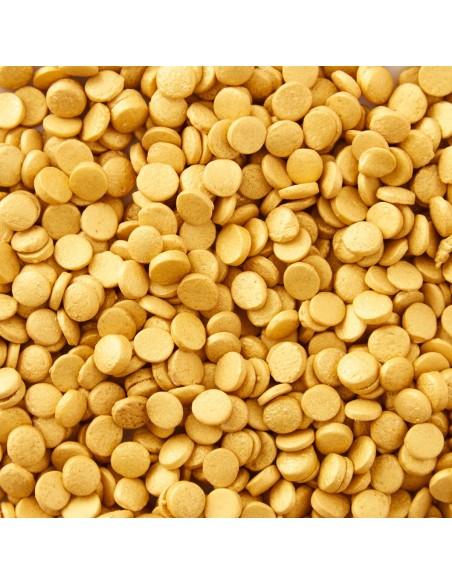 Confeti comestible dorado