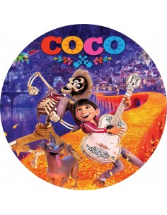 Papel de azúcar pelicula Coco