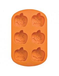 Molde silicona calabazas Halloween