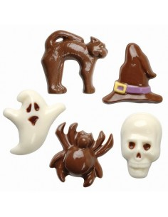 Molde Halloween para chocolate