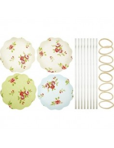 Kit para decorar botes de flores