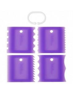 Set 4 texturizadores para bordes