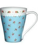Taza con asa Blue Disty Floral Kitchen Kraft
