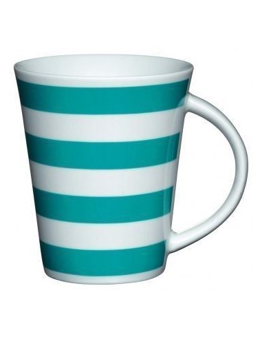 Taza Rayas Azul Kitchen Craft
