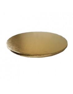 Base Tarta Redonda oro 35 cm