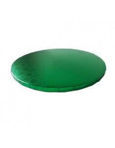 Base Tarta Redonda Verde 20 cm