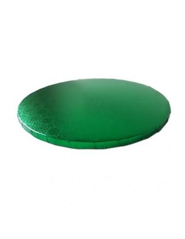 Base Tarta Redonda Verde 25 cm