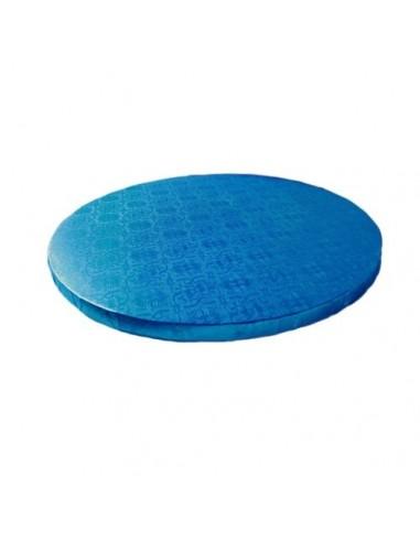Base Tarta Redonda Azul 35 cm