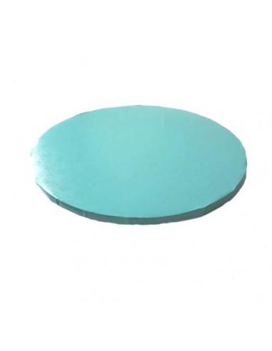 Base Tarta Redonda Azul Claro 25 cm