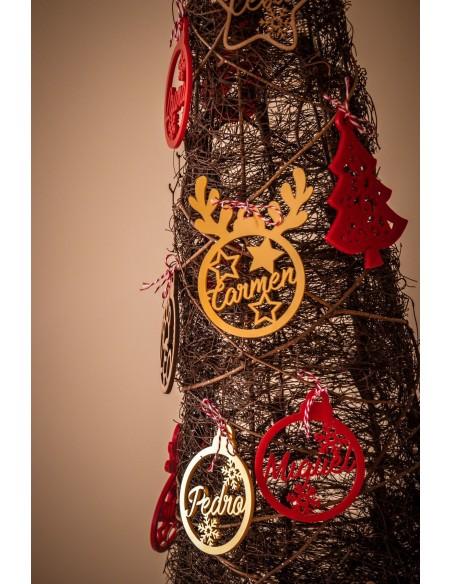 Adornos navideños mascotas para el arbol personalizados