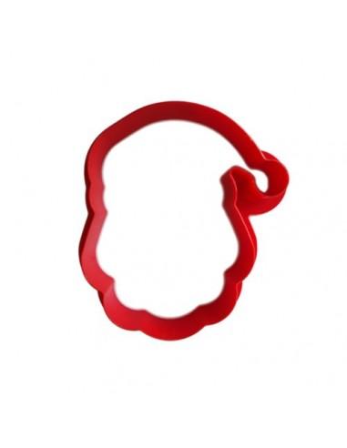 Cortador cabeza Papá Noel plastico